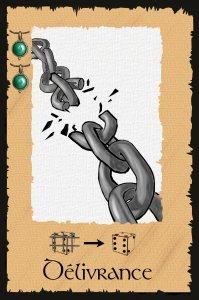 Carte - Sortilège 9 - Délivrance
